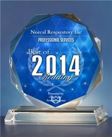NorCal Respiratory 2014 Professional Services Award